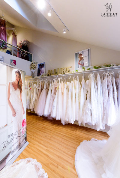 Inside the Bridal Loft