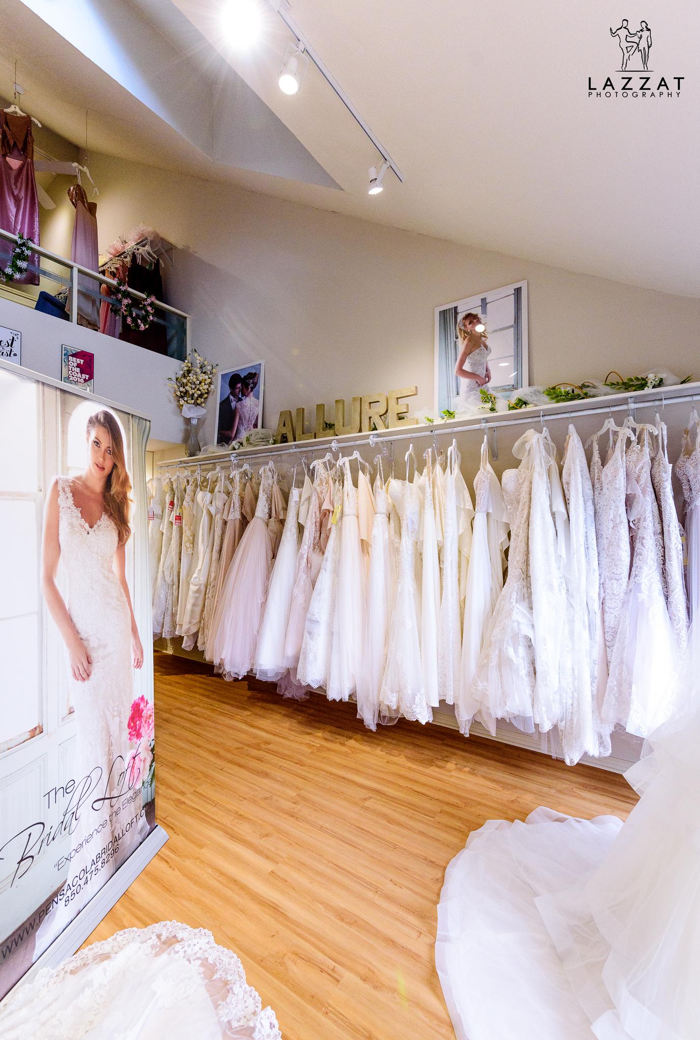 Inside the Bridal Loft