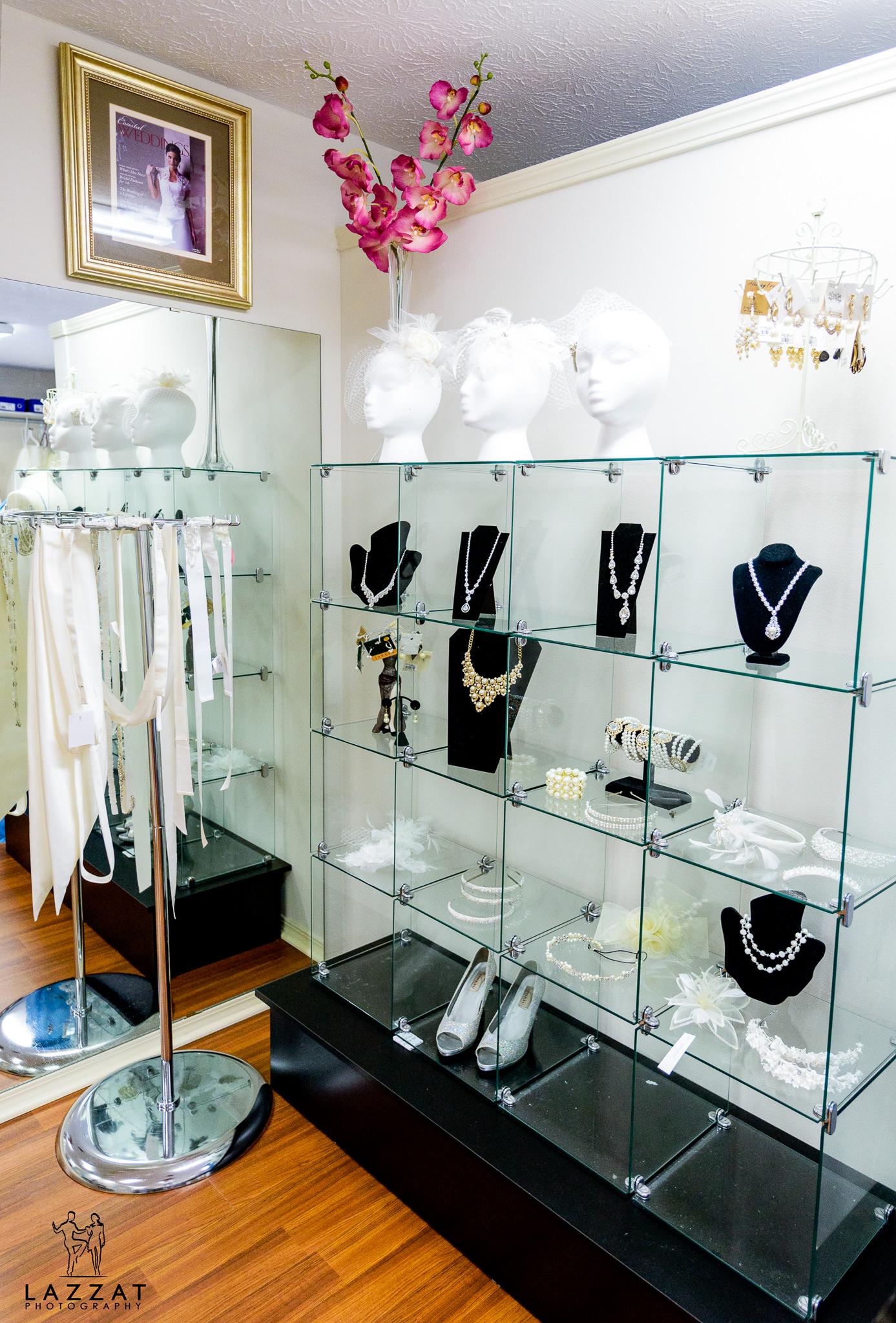 Jewelry at the Bridal Loft