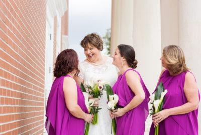Melinda with her Bridesmaids