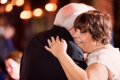 Melinda and Deon dancing in Seville Quarter - close up