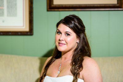 Downtown Pensacola Wedding, close up of Kerri, Lazzat Photography