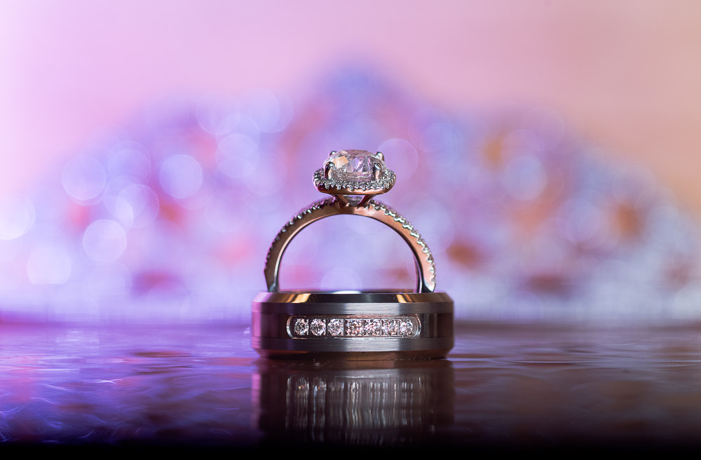Bride and Groom's rings, Ates Ranch Wedding Barn, Rustic ...