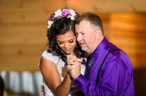 Michelle dancing with Brent's dad, Ates Ranch Wedding Barn, Rustic Barn Wedding, Pensacola wedding photographer, Lazzat Photography