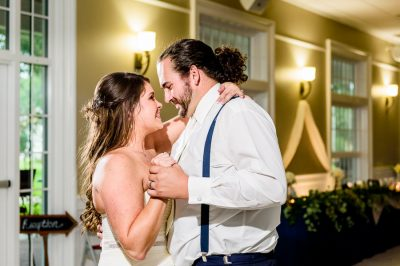 Downtown Pensacola Wedding, Cody and Kerri's first dance close up, Lazzat Photography
