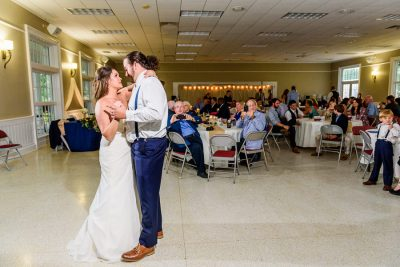 Downtown Pensacola Wedding, Cody and Kerri's first dance, Lazzat Photography