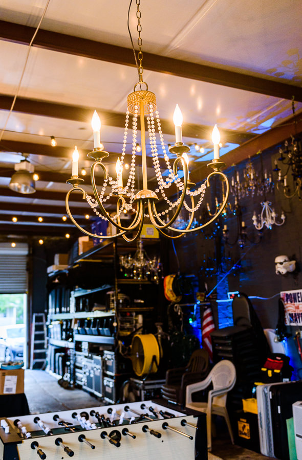 Powell Entertainment game and lighting options room, Lazzat Photography