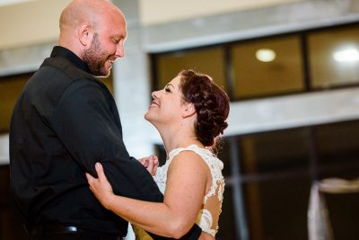Close up of Ashley and Hill during their first dance, Pensacola Waterfront Wedding, Ashley+Hill, Lazzat Photography