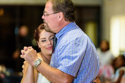 Ashley and her dad's first dance close up, Pensacola Waterfront Wedding, Ashley+Hill, Lazzat Photography