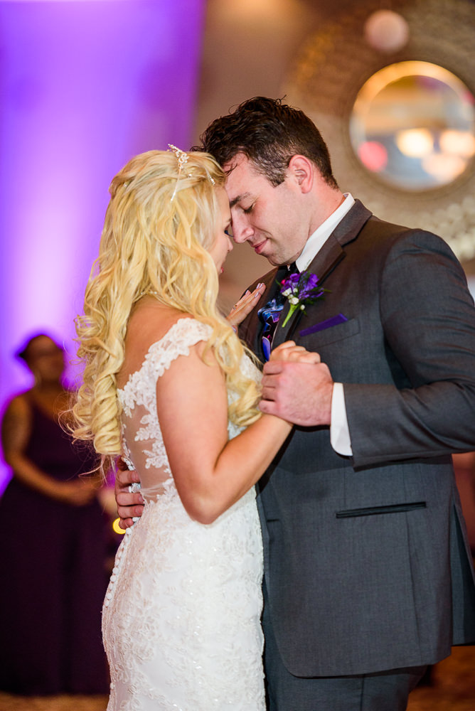 Close up of Bride and Groom's first dance, Star Wars Wedding in Scenic Hills Country Club, Lazzat Photography