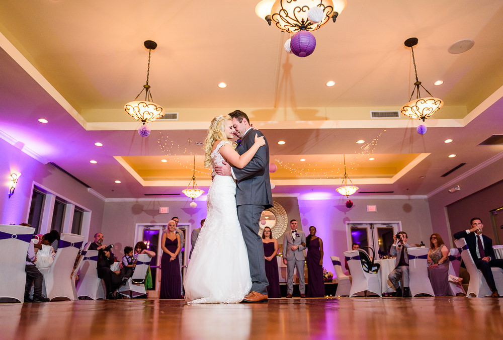 Bride and Groom's first dance, Star Wars Wedding in Scenic Hills Country Club, Lazzat Photography