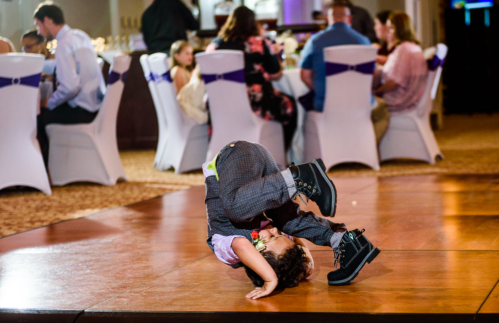 Little boy breakdancing, Star Wars Wedding in Scenic Hills Country Club, Lazzat Photography
