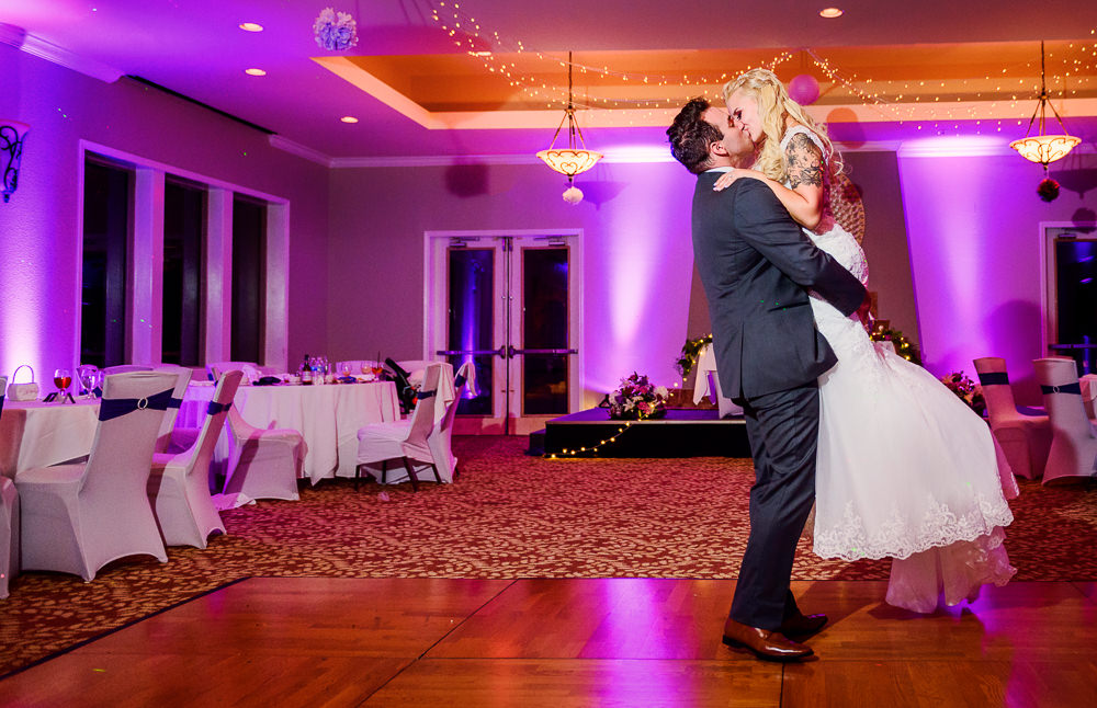 Groom picking up Bride, Star Wars Wedding in Scenic Hills Country Club, Lazzat Photography