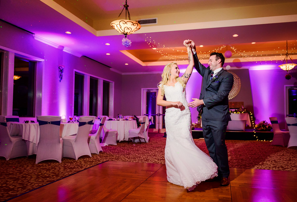 Groom spinning Bride, Star Wars Wedding in Scenic Hills Country Club, Lazzat Photography