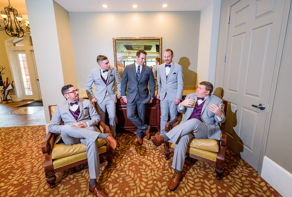 Groom and Groomsmen hanging out, Star Wars Wedding in Scenic Hills Country Club, Lazzat Photography