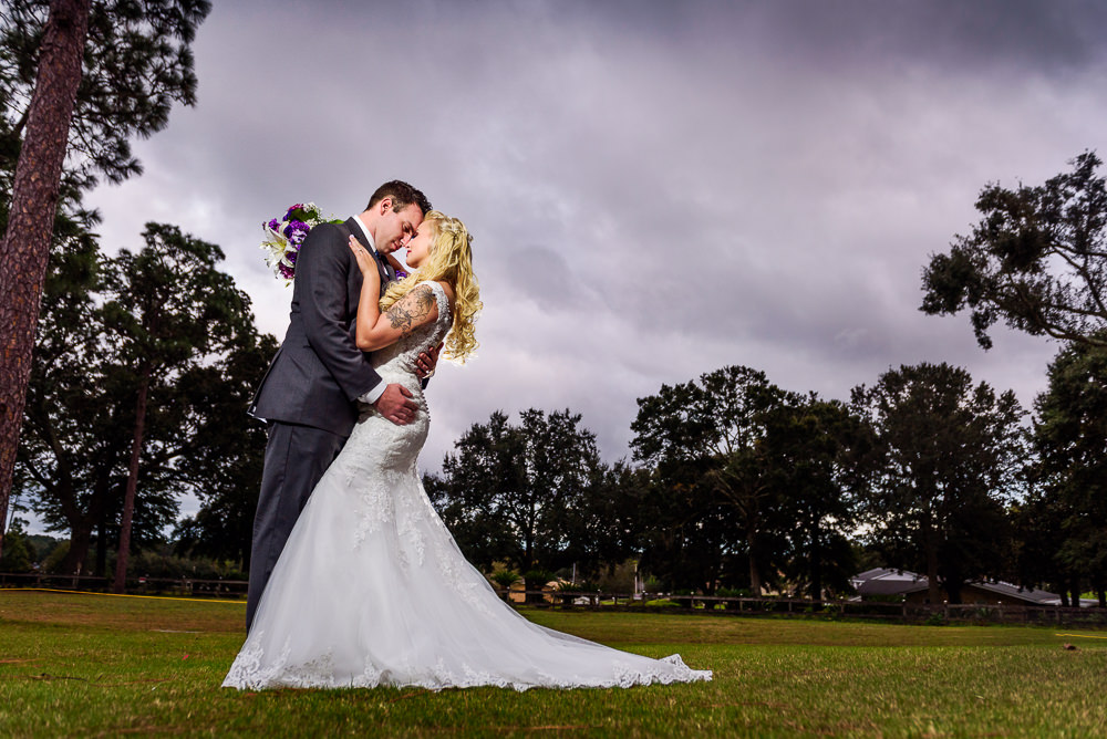 Bride and Groom head to head outside, Star Wars Wedding in Scenic Hills Country Club, Lazzat Photography