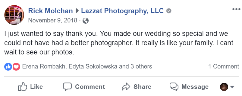 review lazzat photography by Carly+Rick after their wedding day in Scenic Hills