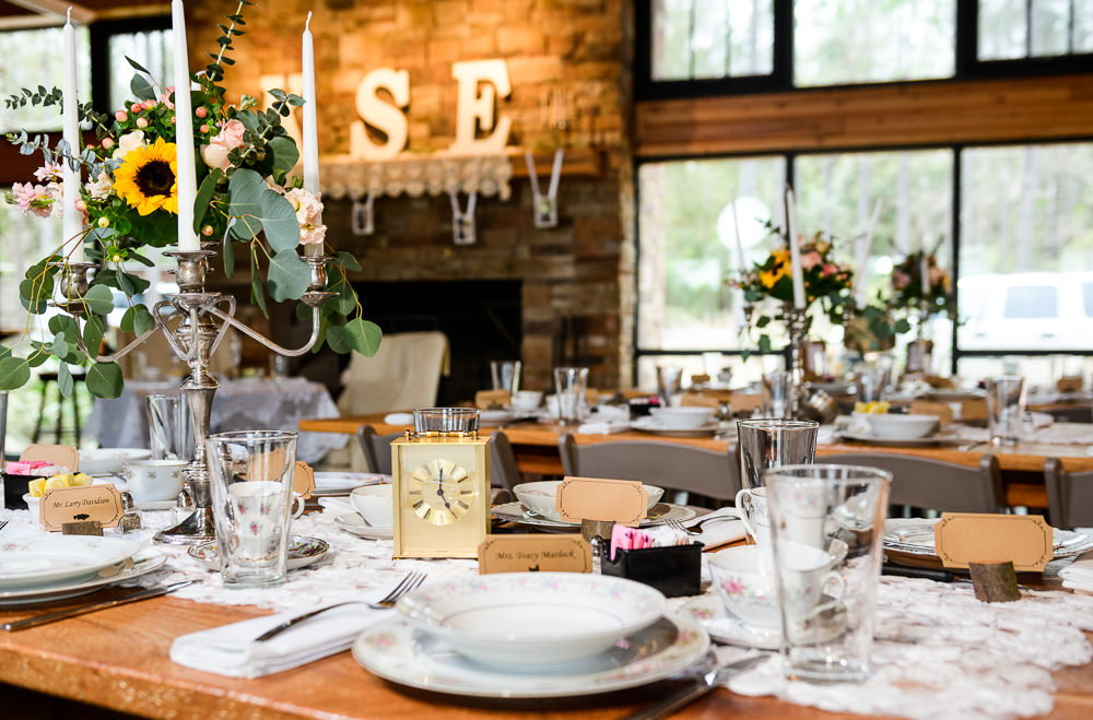 Bride and Groom's reception details, Coldwater Gardens, Rustic Fairy Tale Wedding, Lazzat Photography