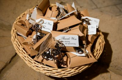 Bride and Groom's thank you gifts, Coldwater Gardens, Rustic Fairy Tale Wedding, Lazzat Photography