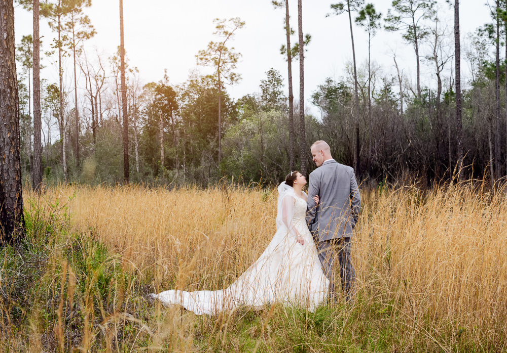 Bride and Groom in the field, Coldwater Gardens, Rustic Fairy Tale Wedding, Lazzat Photography