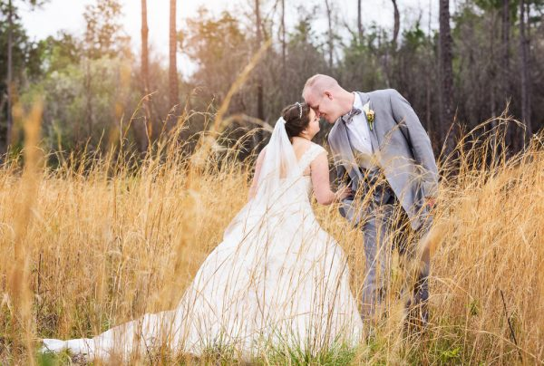 Bride and Groom almost kissing in the field, Coldwater Gardens, Rustic Fairy Tale Wedding, Lazzat Photography
