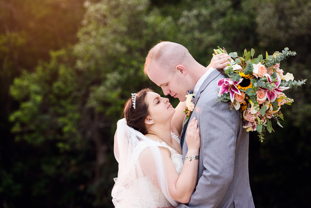 Bride and Groom almost kissing on the beach, Coldwater Gardens, Rustic Fairy Tale Wedding, Lazzat Photography