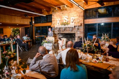 Groom giving a toast, Coldwater Gardens, Rustic Fairy Tale Wedding, Lazzat Photography