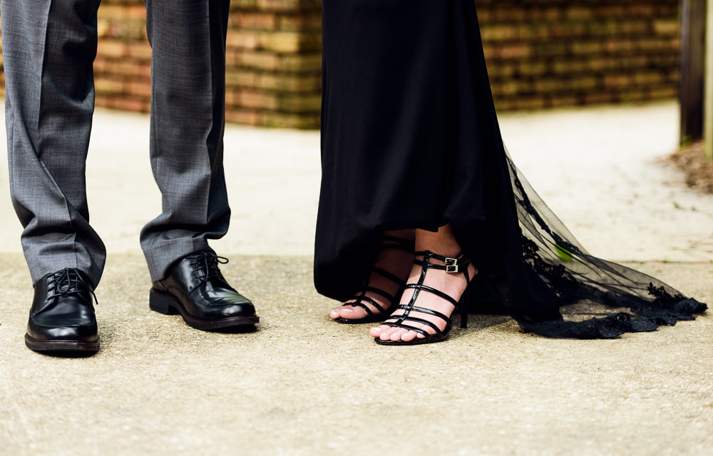 Taylor and Bob shoes, Beautiful Mobile Botanical Gardens Engagement Session, Lazzat Photography