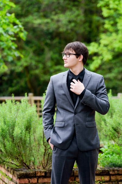 Bob looking handsome, Beautiful Mobile Botanical Gardens Engagement Session, Lazzat Photography