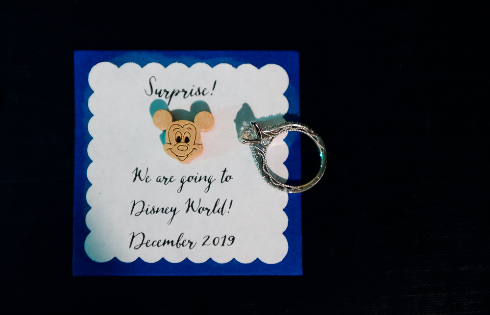 Surprise Disney world trip engagement gift and engagement ring, Fun Engagement Session at Eden Garden and Fort Pickens, Lazzat Photography, engagement photos
