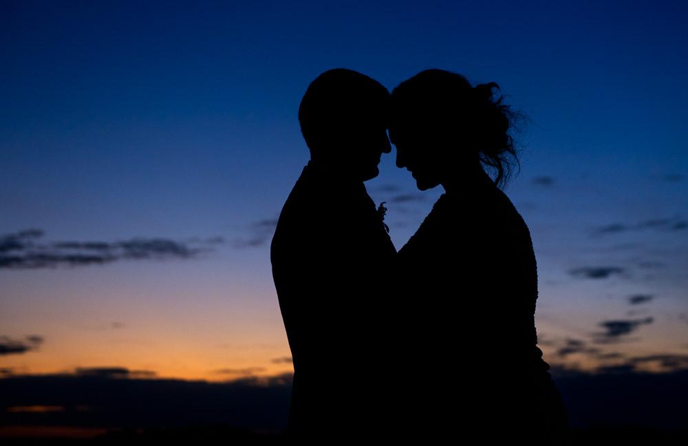 Bride and Groom sunset silhouette, Fort Walton Beach, Fort Walton Yacht Club, Florida Wedding, Lazzat Photography