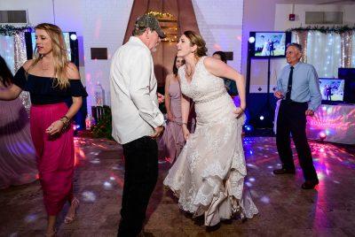 Bride dancing with her dad, Fort Walton Beach, Fort Walton Yacht Club, Florida Wedding, Lazzat Photography