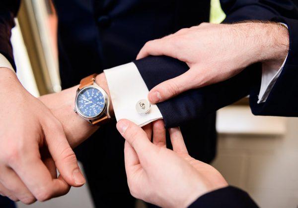 Groom's cufflinks that his Bride personalized, Romantic Catholic Wedding, Pensacola Florida Wedding Photographer, Lazzat Photography