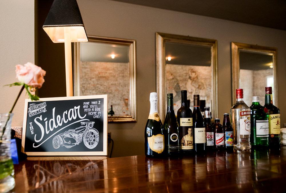 Sidecar signature drink, 5Eleven Palafox, Classic Pensacola Wedding, Lazzat Photography, Florida Wedding Photographer