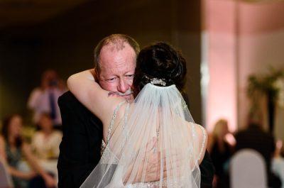 Bride's father daughter dance, Romantic Catholic Wedding, Pensacola Florida Wedding Photographer, Lazzat Photography