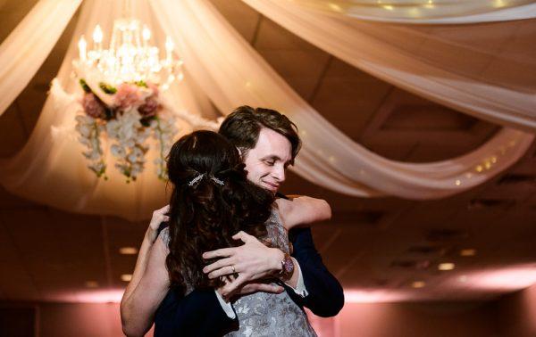 Groom dancing with his mom close up, Romantic Catholic Wedding, Pensacola Florida Wedding Photographer, Lazzat Photography