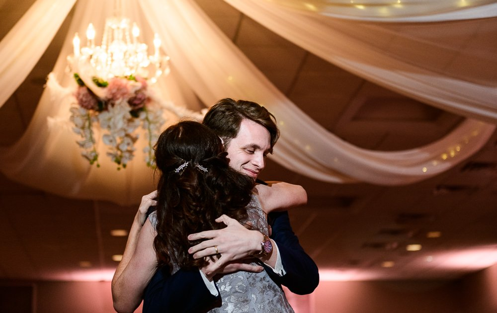 Groom dancing with his mom close up, Romantic Catholic Wedding, Pensacola Florida Wedding Photographer, Lazzat Photography