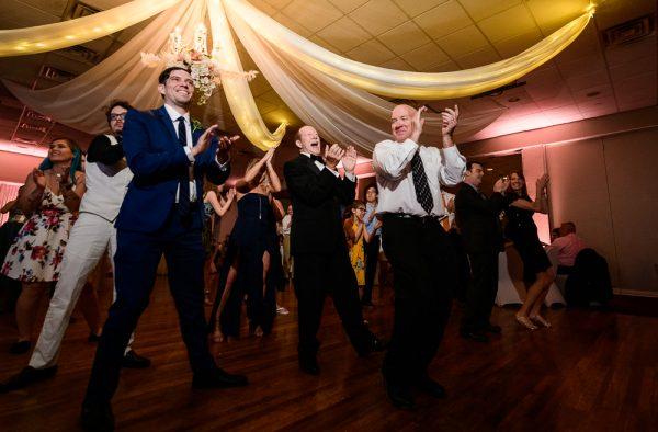 Dancing at the reception, Romantic Catholic Wedding, Pensacola Florida Wedding Photographer, Lazzat Photography