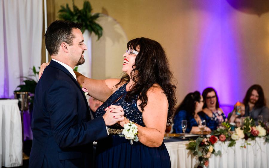 Mother son dance, Hilton Garden Inn Pensacola Airport, Pensacola Summer Wedding, Lazzat Photography