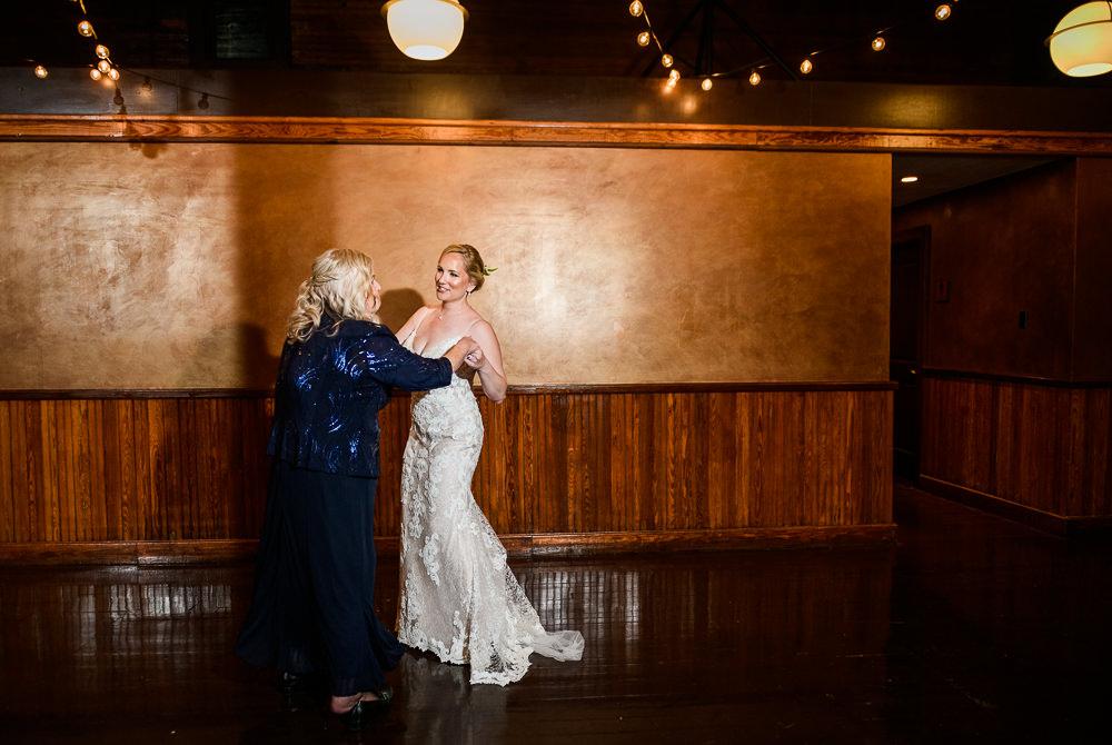 Mother daughter dance, navy blue mother of the bride dress, lace wedding dress, Palafox Wharf Pensacola Wedding, Orlando Florida Wedding photographer, Lazzat Photography