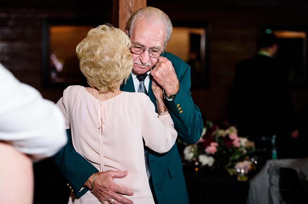 Bride's grandparents dancing, Palafox Wharf Pensacola Wedding, Orlando Florida Wedding photographer, Lazzat Photography