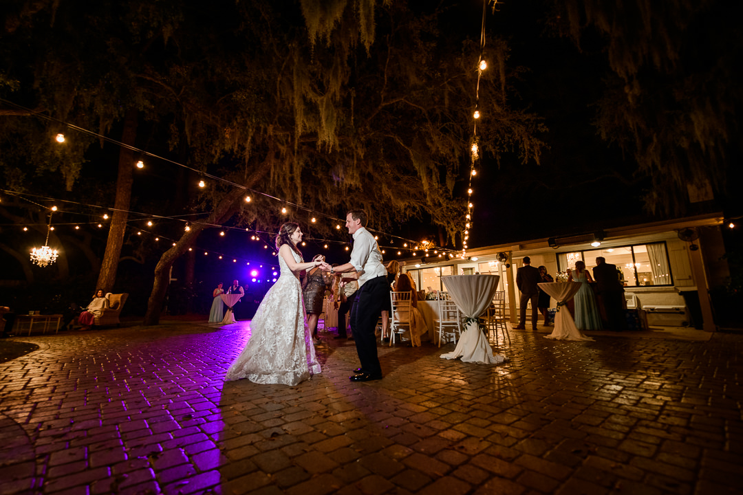 Bride and Groom dancing at the reception, Destin Bay House Wedding, Destin Florida, Lazzat Photography, Florida wedding photographer, Orlando wedding photographer