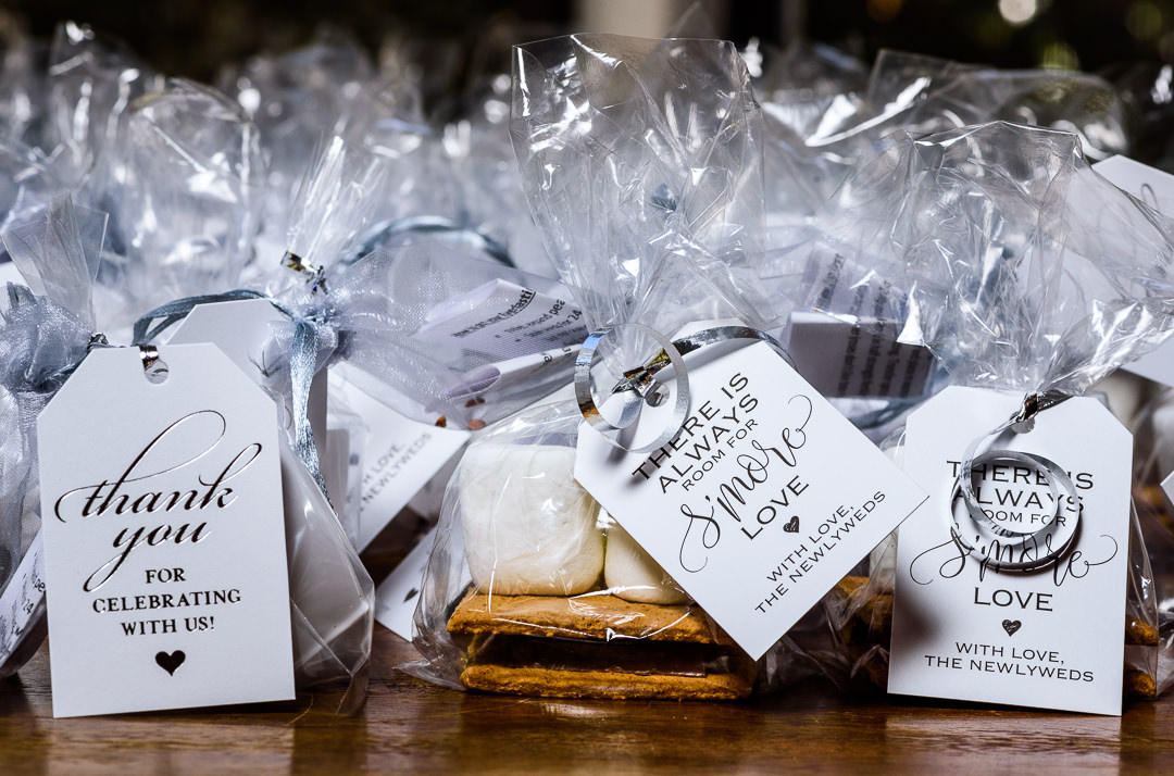 S'mores wedding favor, Destin Bay House Wedding, Destin Florida, Lazzat Photography, Florida wedding photographer, Orlando wedding photographer